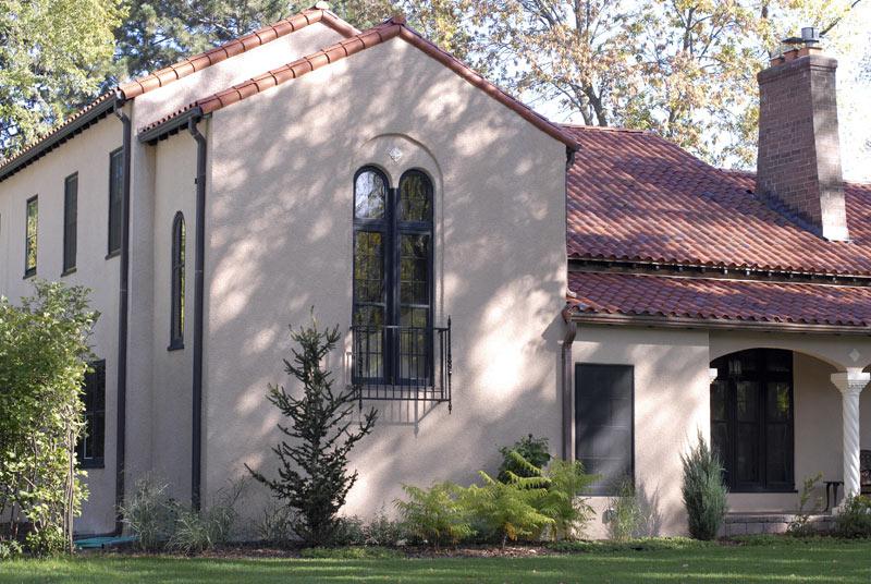 Spanish-stucco style