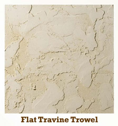 Flat Travine Trowel