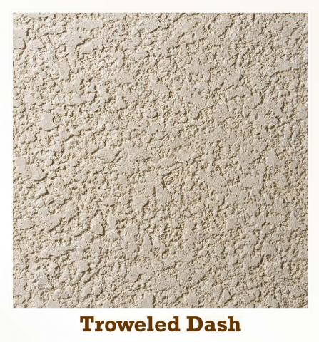 Troweled Dash